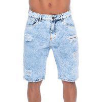 Bermuda Jeans Com Rasgos 9 Emporio Alex