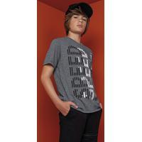 Camiseta Teen Masculina Mescla