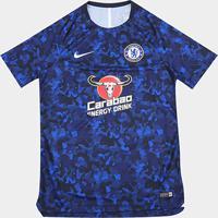 0c47dbfc68aa4 Netshoes  Camisa Chelsea Treino 19 20 Nike Masculina - Masculino