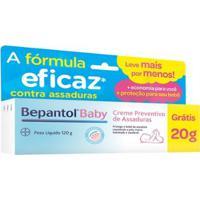 Creme Preventivo De Assaduras Bepantol Baby Bayer -120G - Unissex-Incolor