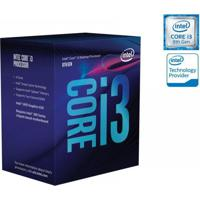 Processador Core I3 Lga 1151 Quad Core I3-8100 3.60Ghz 6Mb Cache Graf Uhd 8ªger Intel Bx80684I38100