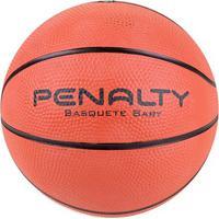 Bola De Basquete Penalty Playoff Baby Ix - Unissex-Laranja+Preto