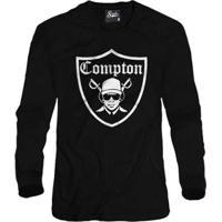 Casaco Moletom Skull Clothing Compton Masculino - Masculino-Preto