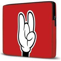 Capa Para Notebook Mickey 15 Polegadas Vermelho