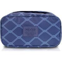 Bolsa De Viagem Porta Lingerie Estampado - Unissex-Azul