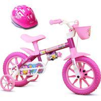 Bicicleta Juvenil Nathor Flower