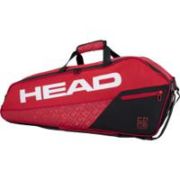Raqueteira Head Core Combi 6R New - Vermelho