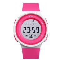 Relógio Skmei Women -1445- Rosa E Branco