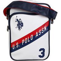 Bolsa U.S. Polo Assn Esportiva Masculina - Masculino-Branco