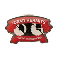 Undercover Botton 'The Dead Hermits' - Vermelho