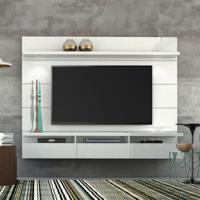 Painel Para Tv 60 Polegadas Horizon 3 Gv Branco Gloss 218 Cm
