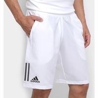 Bermuda Adidas Club 3 Stripes Masculina - Masculino