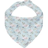 Bandana Floral - Azul Rosa- 0,5X23X18Cm - Batibatistela