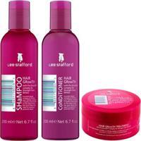 Kit Shampoo + Condicionador + Máscara Lee Stafford Hair Growth Kit - Unissex-Incolor