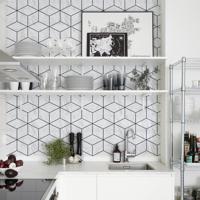 Revestimento De Azulejo Geo Marble