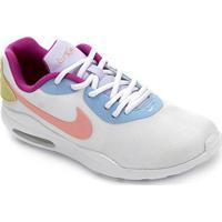 Tênis Nike Air Max Oketo Feminino - Feminino-Branco+Roxo
