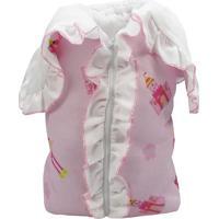 Porta Bebê Menina - Flamingo