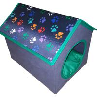 Casinha Pet Para E Cachorros De Pequeno Porte Tipo 1 Verde