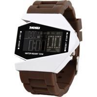 Relógio Skmei Digital 0817 Marrom