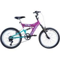 Bicicleta Track Bikes Xs 20 Aro 20 Suspensão Dupla - Unissex