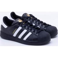 3ec06ea85da Tênis Adidas Superstar Foundation Originals Preto Masculino 36
