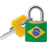 Cadeado Sm C/ Chave Brasil 51018790 Pado
