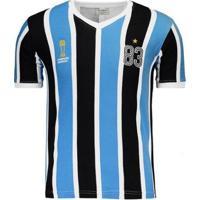 Camisa Grêmio Retrô 1983 Mundial Masculina - Masculino