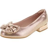 Sapato Infantil Feminino Molekinha - 2528209 Bronze 27