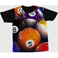 Camiseta Darkwood Sinuca Laranja