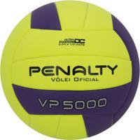 Bola De Vôlei Penalty Vp 5000 - Amarelo/Roxo