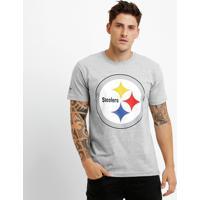 Camiseta New Era Nfl Permanente Pittsburgh Steelers - Masculino