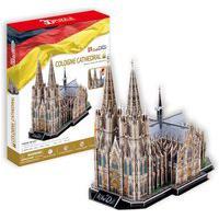 Quebra-Cabeça 3D Catedral De Colônia -Brinquedos Chocolate