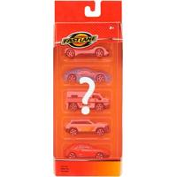 Pack Die-Cast - 5 Mini Veículos Sortidos - Fastlane - New Toys