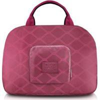 Bolsa De Viagem Jacki Design Dobrável Estampado - Unissex-Vermelho Escuro