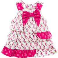 Vestido Compose Buque - Feminino-Pink