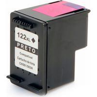 Cartucho De Tinta Compatível Hp 122Xl 122 Para Deskjet