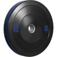 Anilha Olímpica Bumper Plate Para Musculação 20Kg Wct Fitness - Unissex