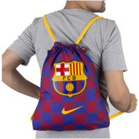 Gym Sack Barcelona Nike Stadium - Azul/Vermelho