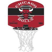 Mini Tabela De Basquete Spalding Nba Chicago Bulls - Unissex