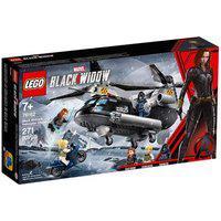 Lego Super Heroes Marvel - Perseguição De Helicóptero Da Viúva Negra Lego 76162