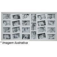 Painel Para 23 Fotos- Branco- 50X100X3Cm- Kaposkapos