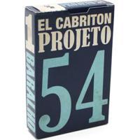 Baralho Projeto 54 - 2A Edição-Azul Escura-U