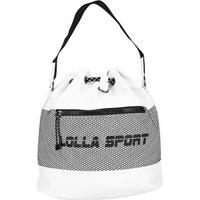 Bolsa Santa Lolla Sport Saco Nylon Feminina - Feminino-Branco
