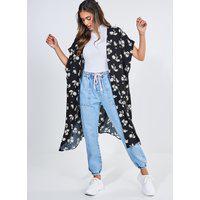 Kimono Longo Estampado
