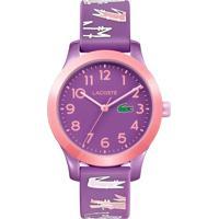 Relógio Lacoste Infantil Borracha Roxa - 2030020