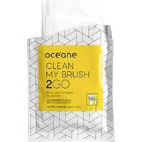 Lenços Para Limpeza De Pincel Océane - Clean My Brush 2 Go 6 Un - Unissex-Incolor