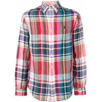 Polo Ralph Lauren Camisa Xadrez - Vermelho