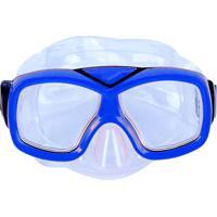 Kit De Mergulho E Snorkel Azul Divers - Nautika 113400