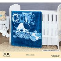 Cobertor Infantil Pippo Dog