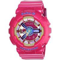 Relógio Digital Analógico Casio Baby-G Ba112 - Feminino - Rosa